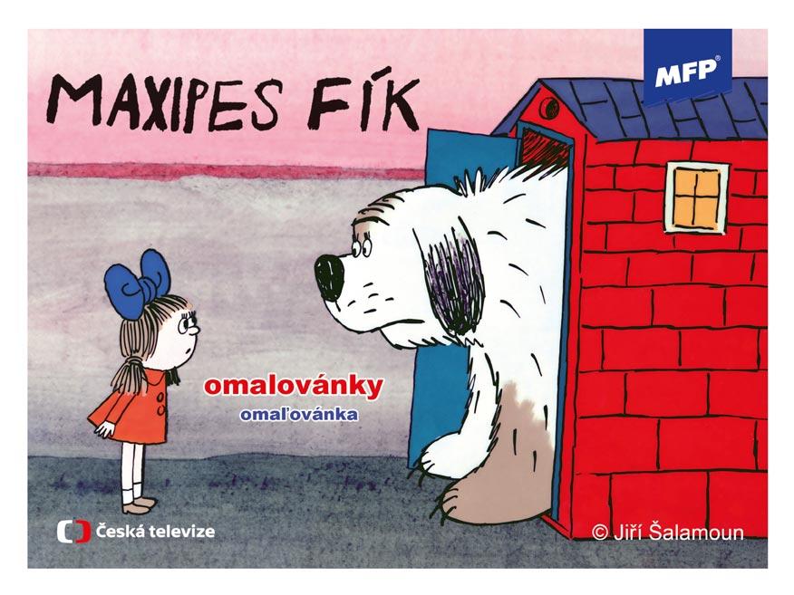 MFP 5300715 omalovánky Maxipes Fík