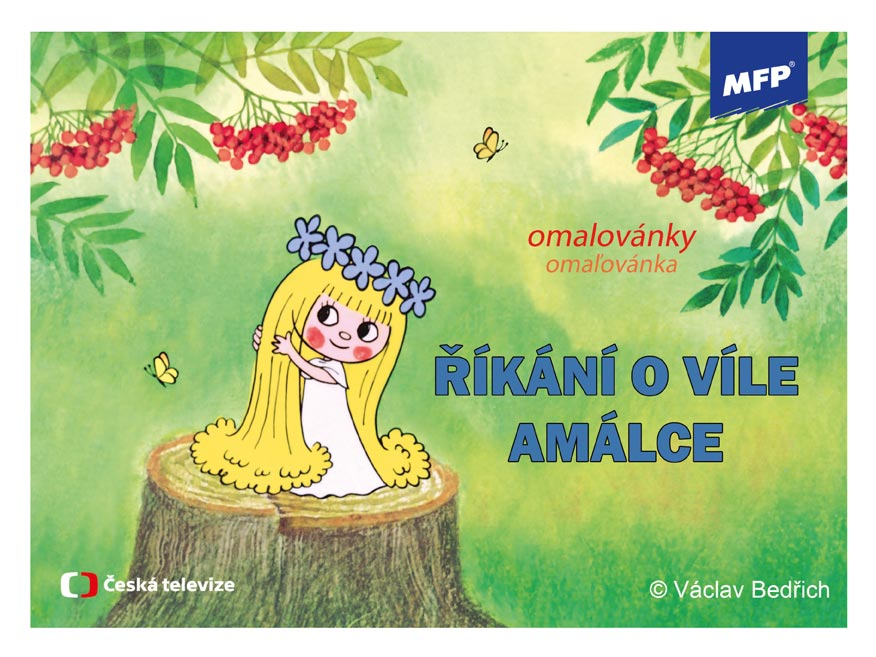 MFP omalovánky Víla Amálka