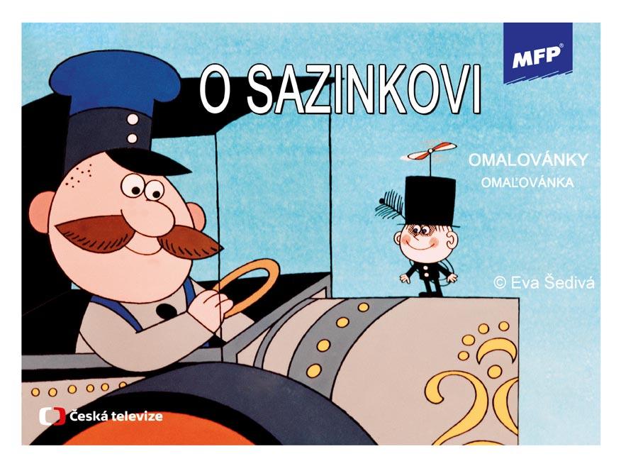 MFP 5300723 omalovánky O Sazinkovi