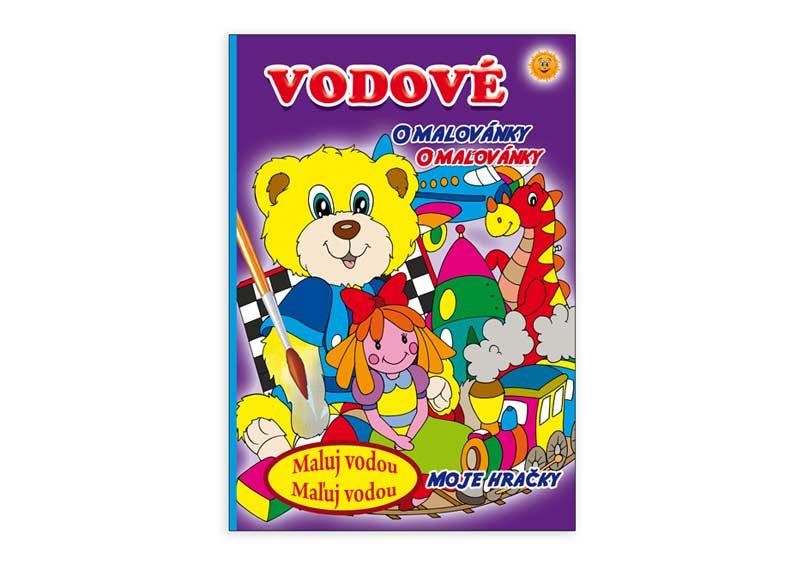 Image of Omalovánky vodové MFP Moje hračky 205x290/16s