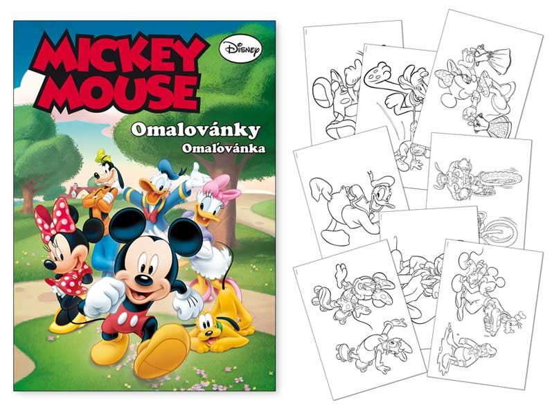 Image of Omalovánky MFP A4 Disney (Mickey)