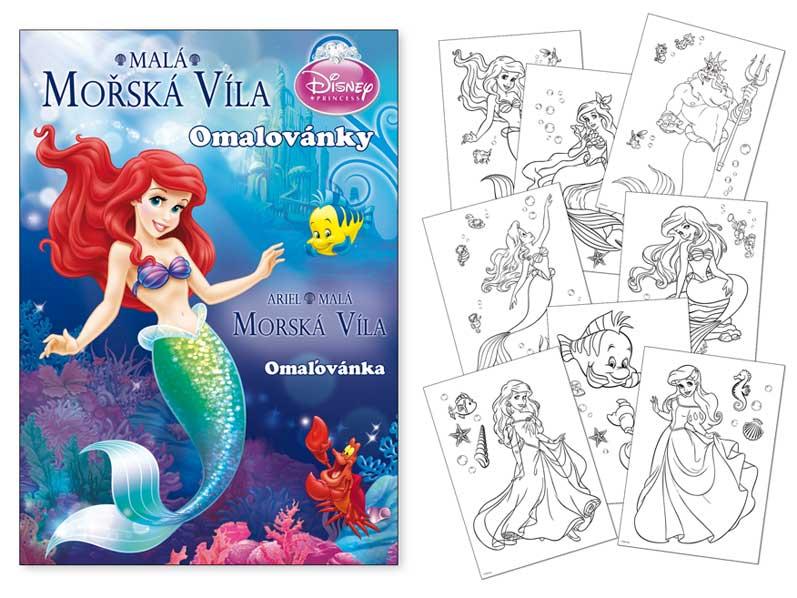 Image of Omalovánky MFP A4 Disney (Ariel)