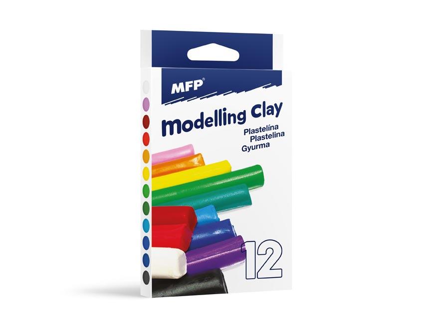 Modelovací hmota 12 barev 200g