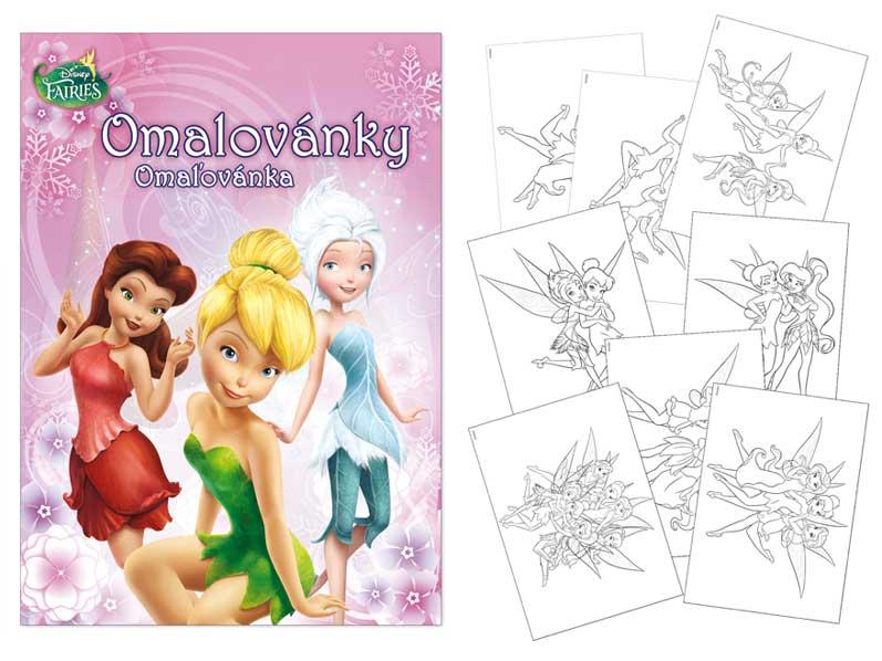 Image of Omalovánky MFP A4 Disney (Fairies)