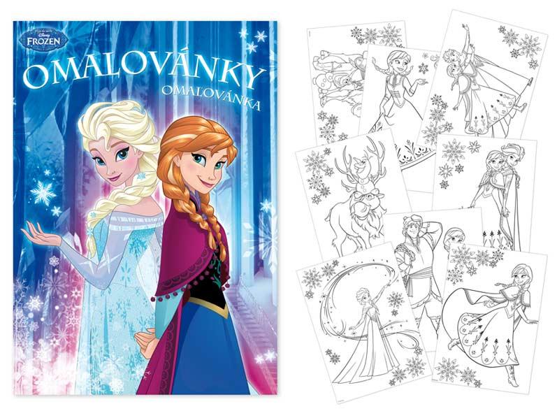 Image of Omalovánky MFP A4 Disney (Frozen)