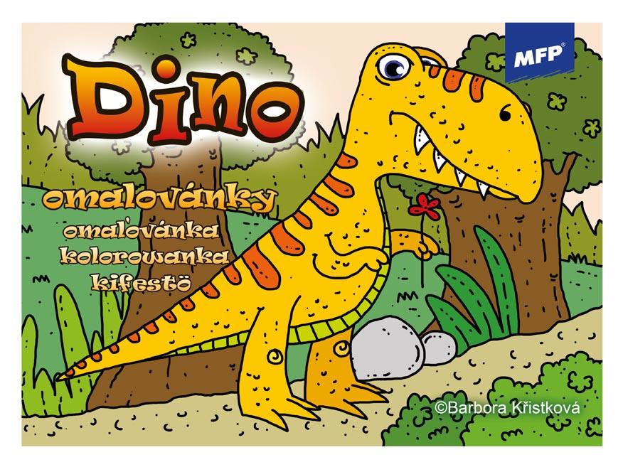 Omalovánky MFP Dino