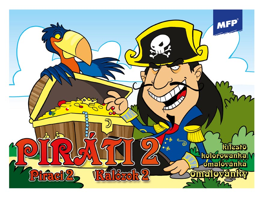 MFP 5300807 omalovánky Piráti 2