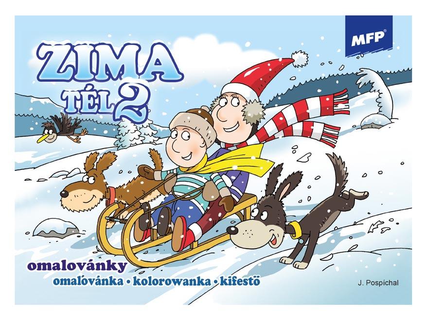 Omalovánky MFP Zima 2
