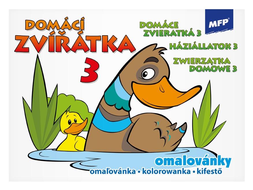 Image of Omalovánky MFP Domácí zvířátka 3