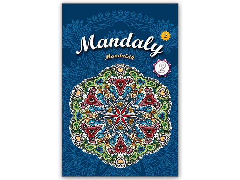 Omalovánky antistresové Mandaly 2 210x296/24s