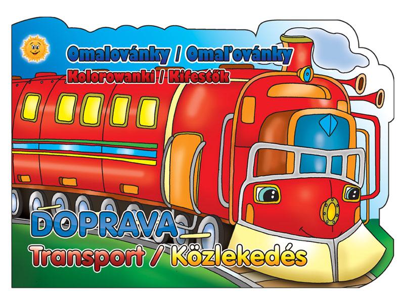 Omalovánky výsek Doprava 208x290/16s