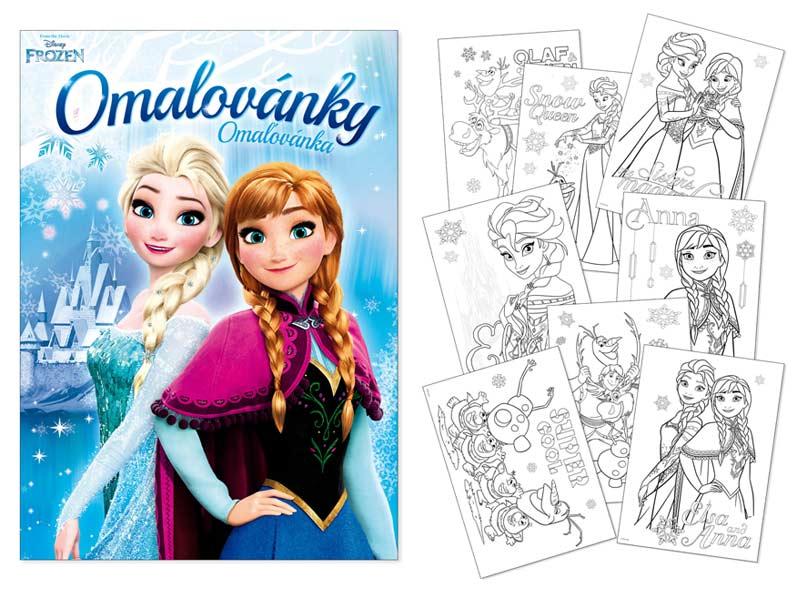 Omalovánky MFP A4 Disney (Frozen) 2