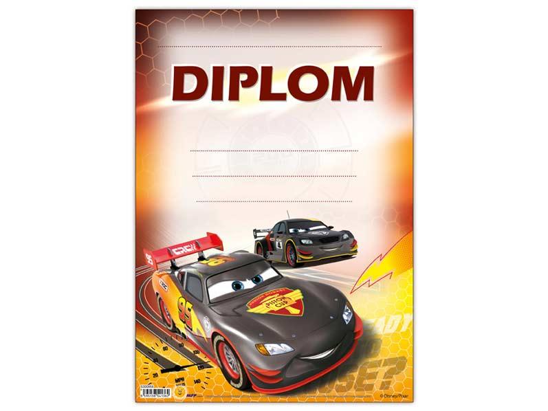Dětský diplom A4 MFP DIP04-Y10 Disney (Cars)