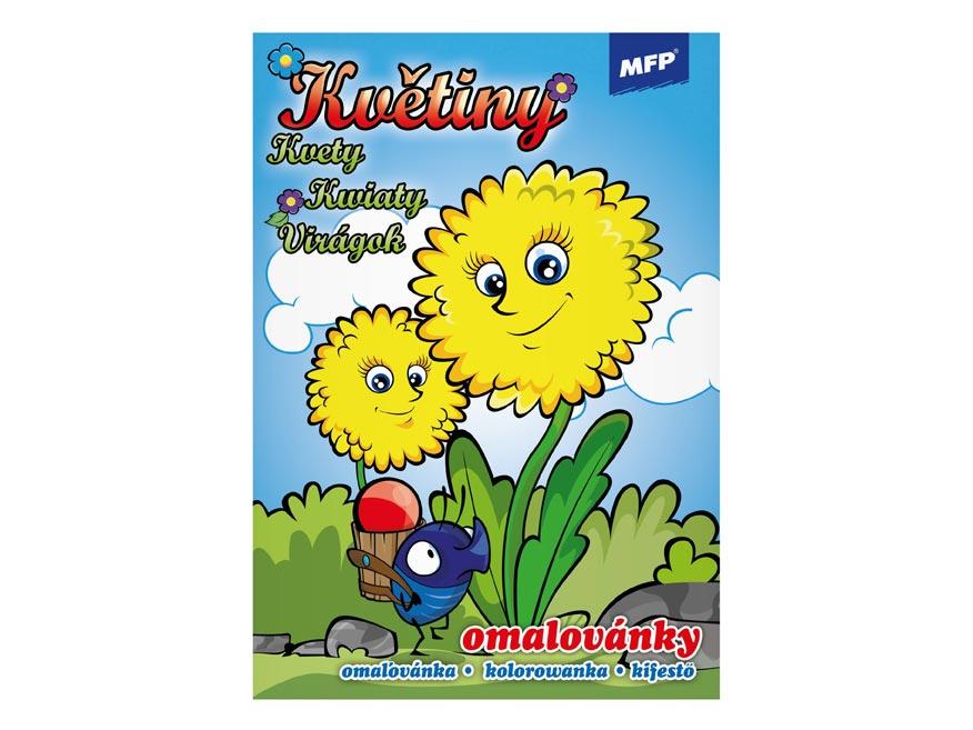 Omalovánky MFP Květiny