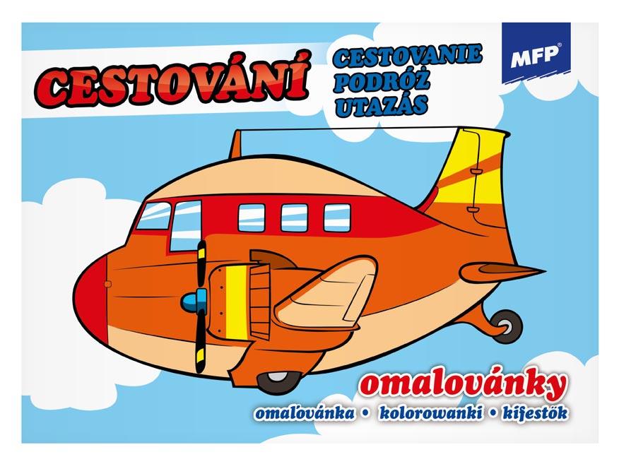 MFP 5300867 omalovánky Cestování