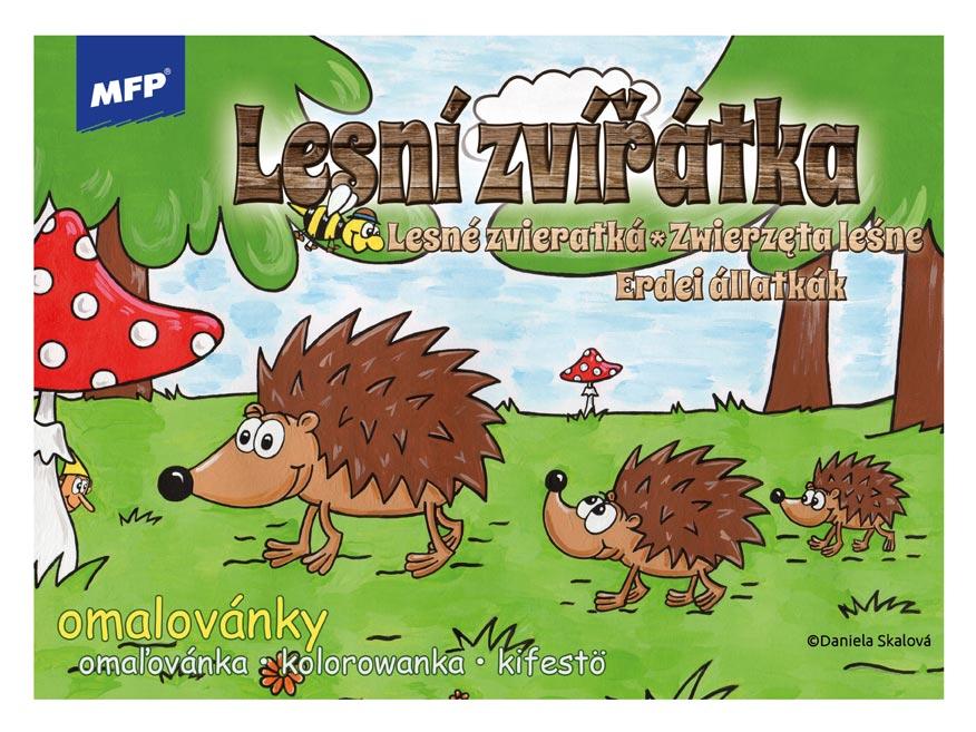 Omalovánky MFP Lesní zvířátka