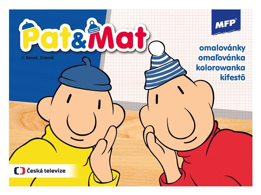 Omalovánky MFP Pat a Mat