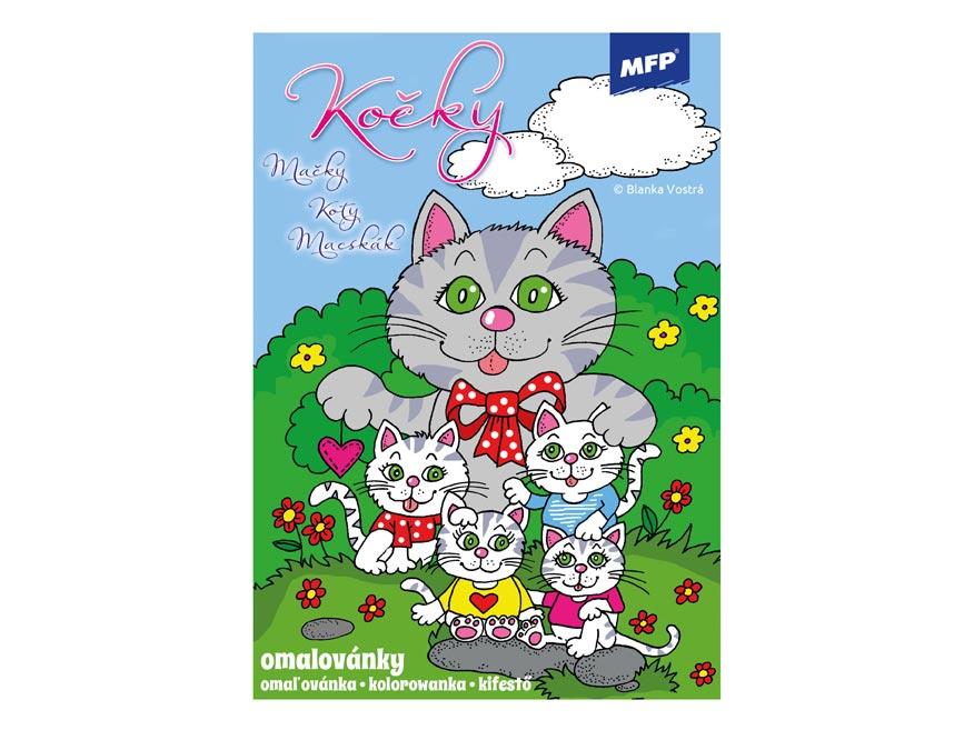 Omalovánky MFP Kočky