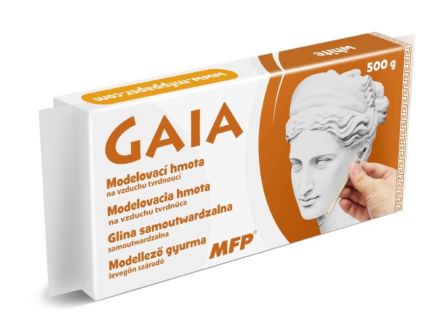 Modelovací hmota GAIA 500g bílá