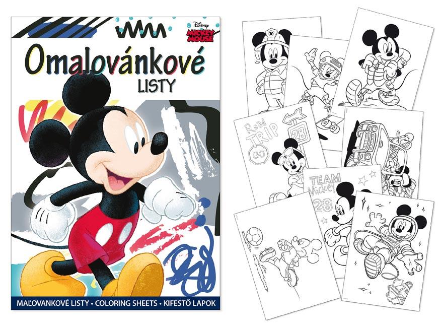 Omalovánky MFP A4 Disney (Mickey)