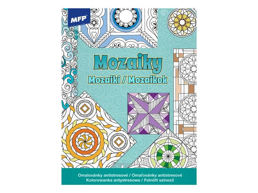 Omalovánky antistresové Mozaiky 3 210x275/32s
