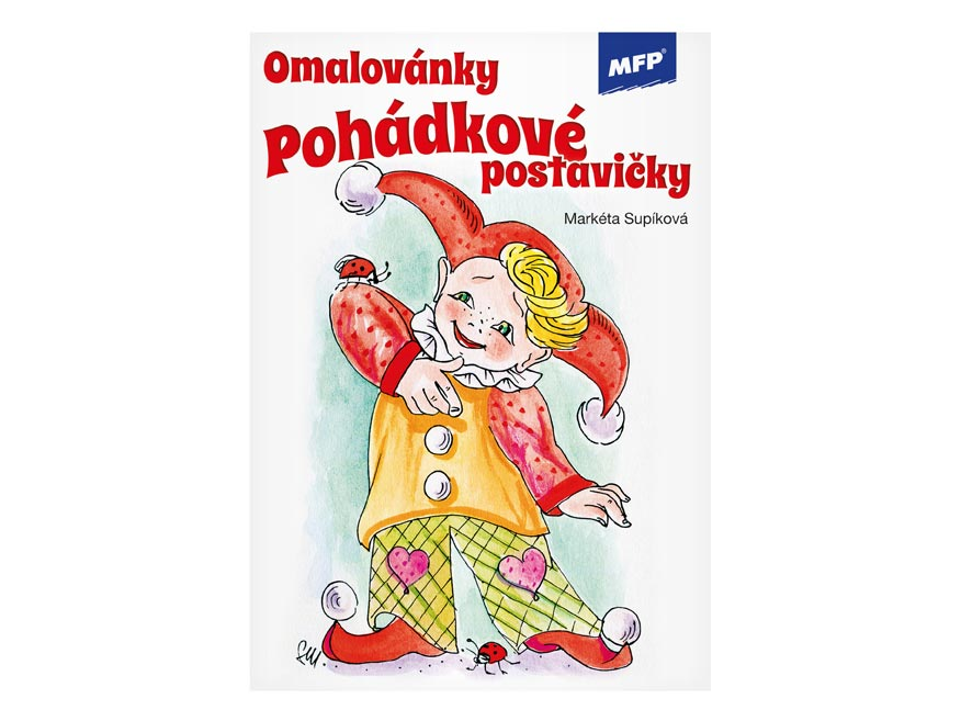Omalovánky MFP Pohádkové postavičky