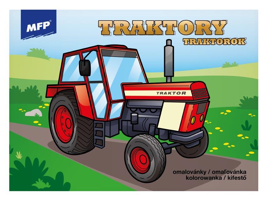 MFP 5301039 omalovánky Traktory