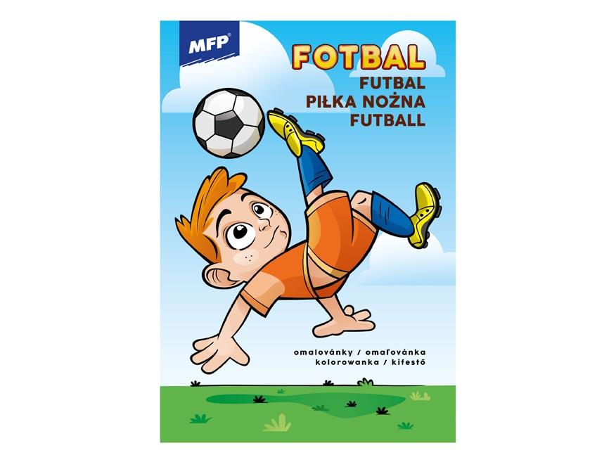 MFP 5301041 omalovánky Fotbal