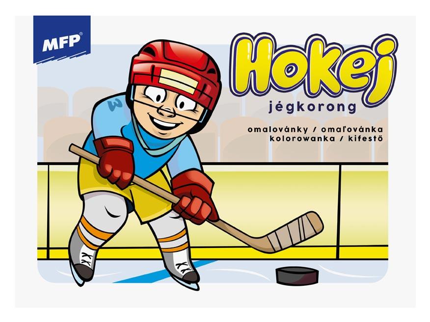 MFP 5301042 omalovánky Hokej