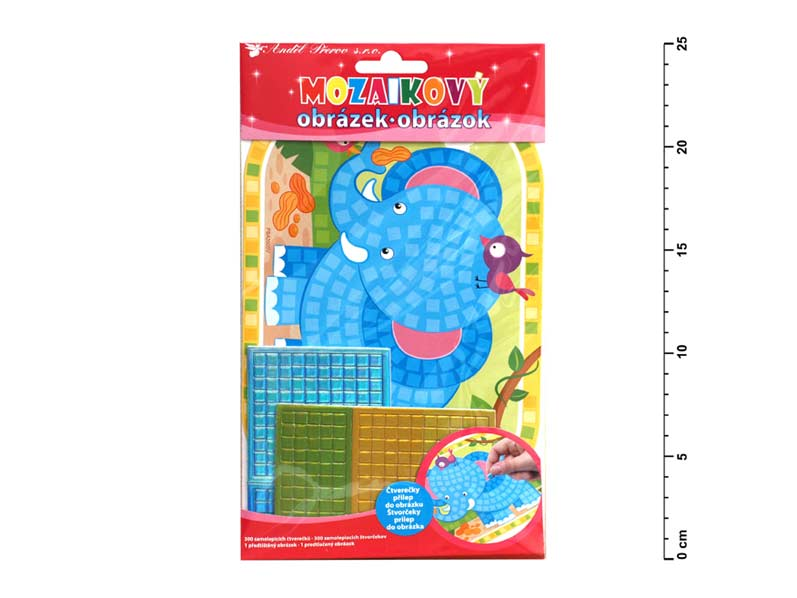 Mozaika 10158 slon 25x14cm