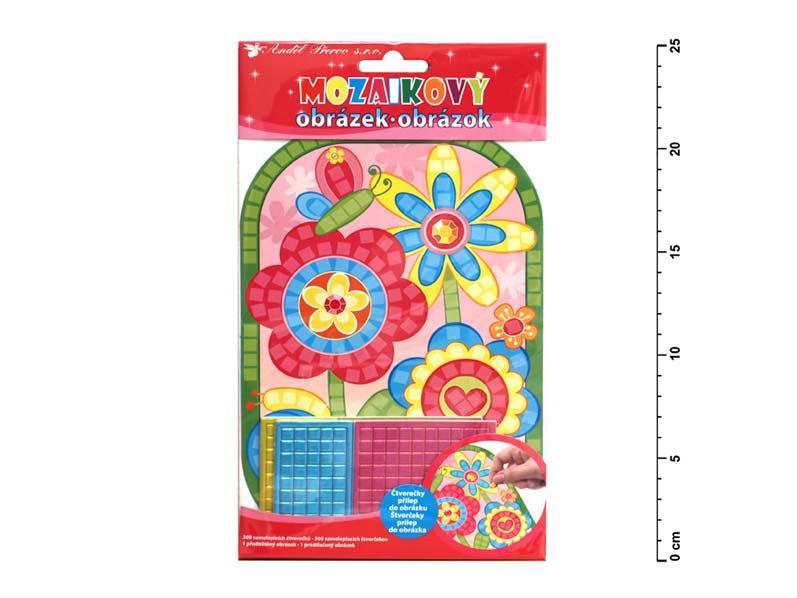 Mozaika 10159 květiny 25x14cm