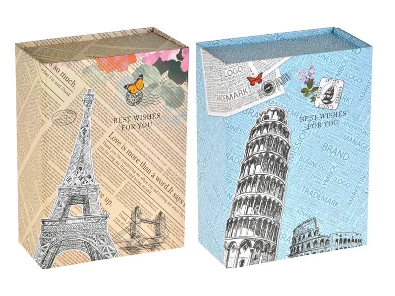 Krabička dárková 874215 skládací 21,5x16x5cm