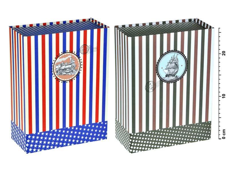 Krabička dárková 874218 skládací 26x20x10cm