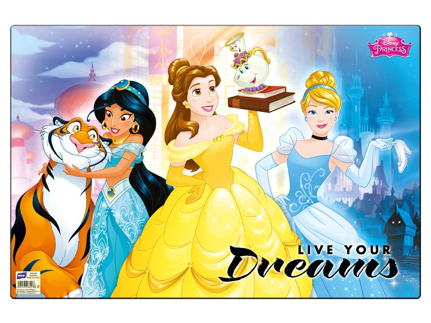Podložka na stůl MFP 60 x 40cm Disney (Princess)