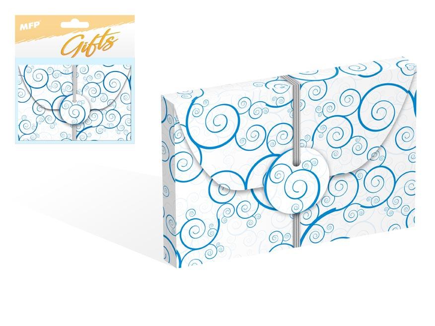 Krabička na peníze celoroční 12x8x1cm
