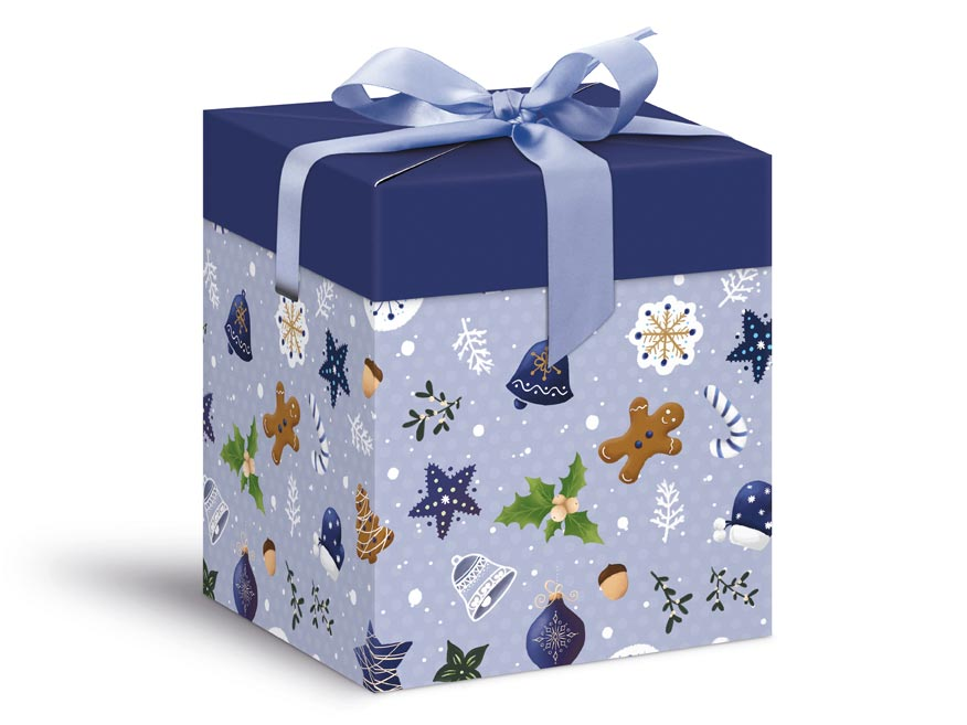 Levně MFP 5370571 Krabička dárková vánoční 12x12x15cm