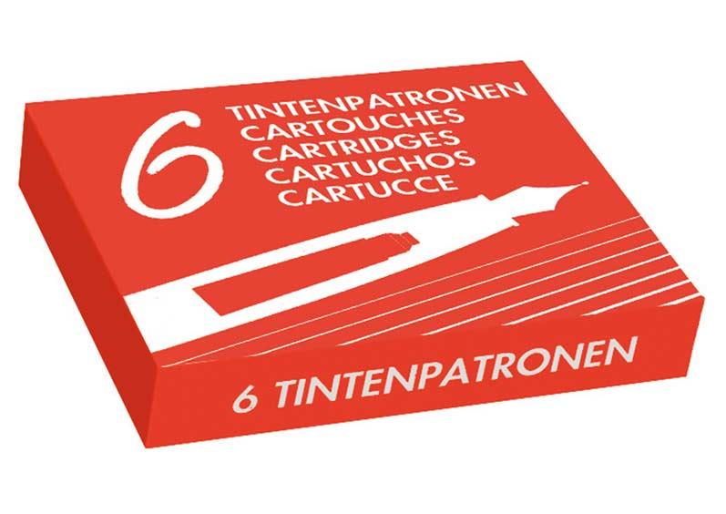 MFP inkoustové zásobníky červené 6 ks