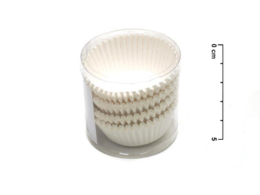 Košíček cukrářský bílý 870915 10,5cm