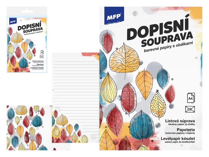 MFP 5550301 Dopisní papír barevný LUX 5+10 (Listy)
