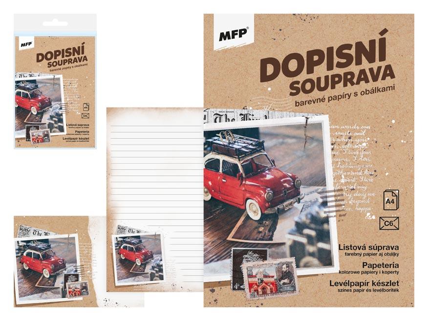 MFP 5550305 Dopisní papír barevný LUX 5+10 (Auto)