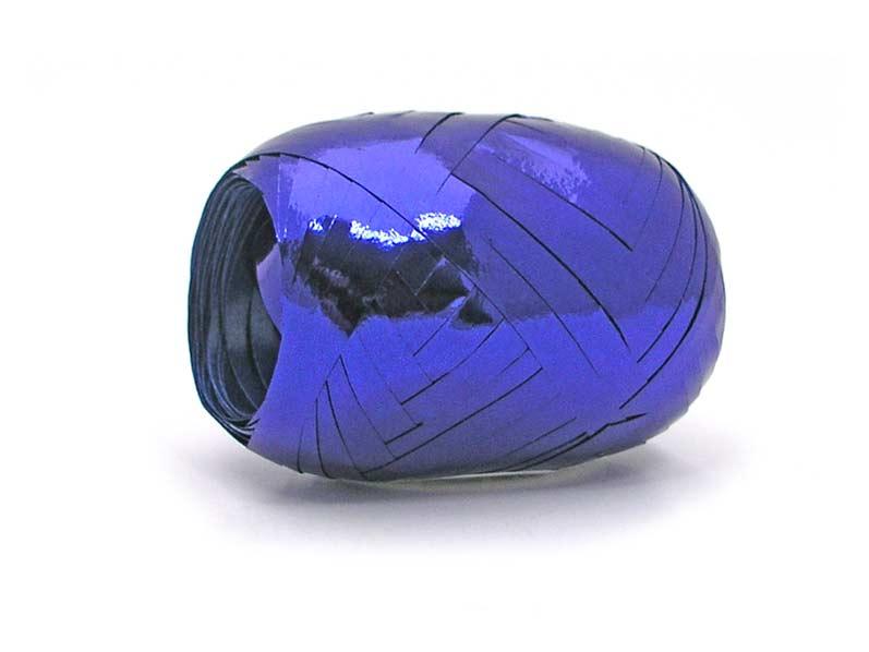 Stuha vázací 20m metal modrá 6134