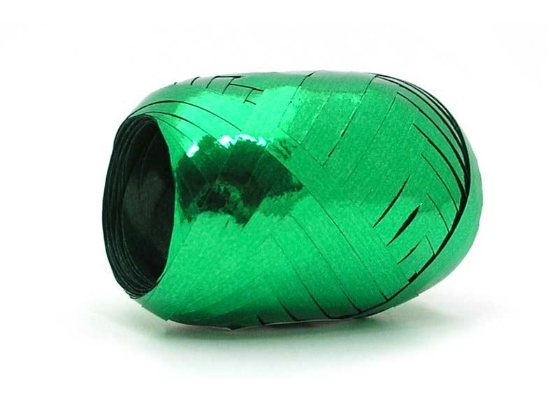 Stuha vázací 20m metal zelená 6316