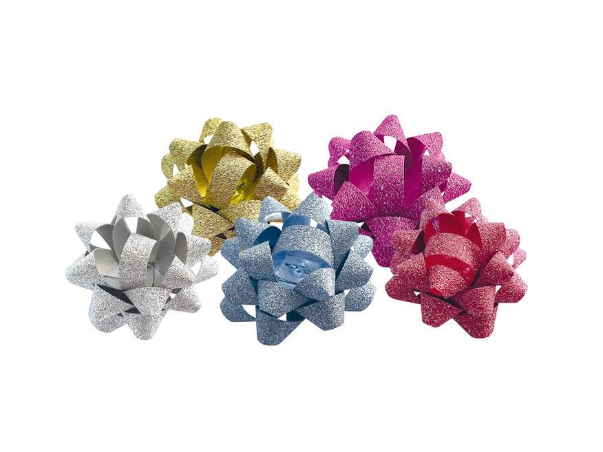 Rozetka glitter 0,5/3 cm