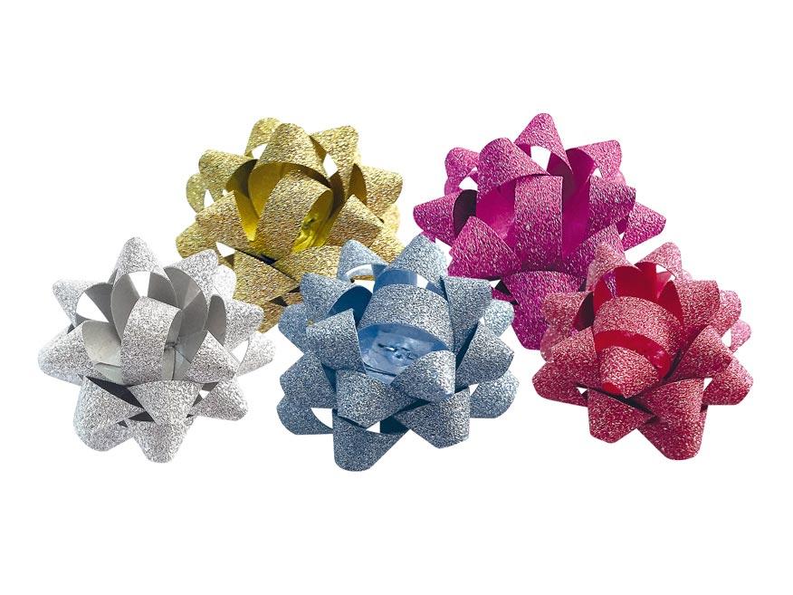 Rozetka glitter 2/11 cm