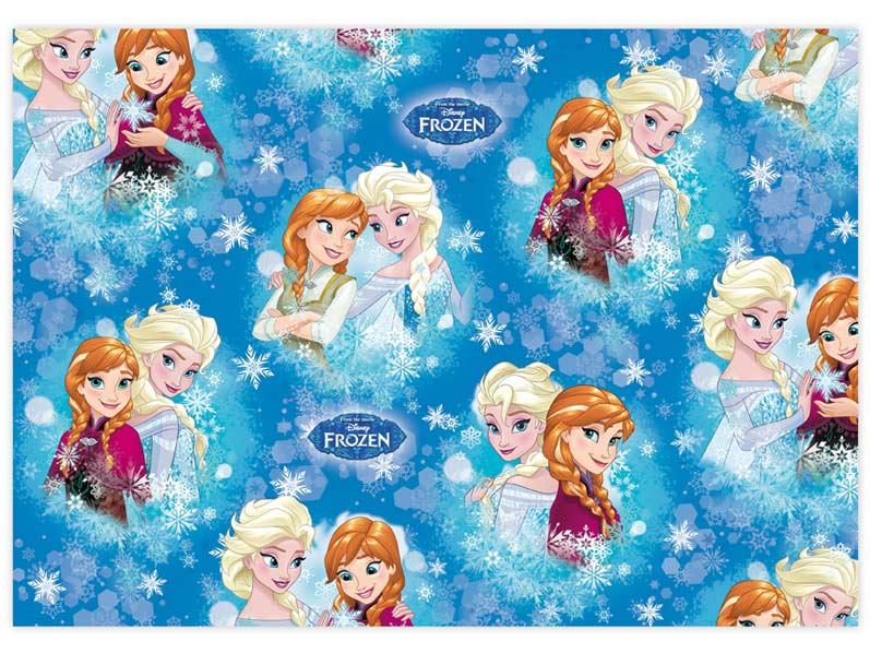 Balící papír Disney Y018 (Frozen) 100x70 LUX