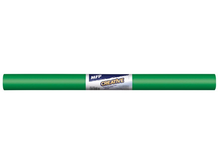 Krepový papír role 50x200cm zelený