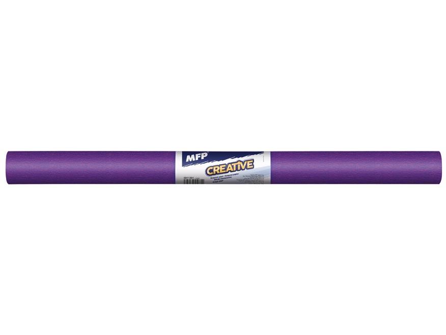 Krepový papír role 50x200cm fialový