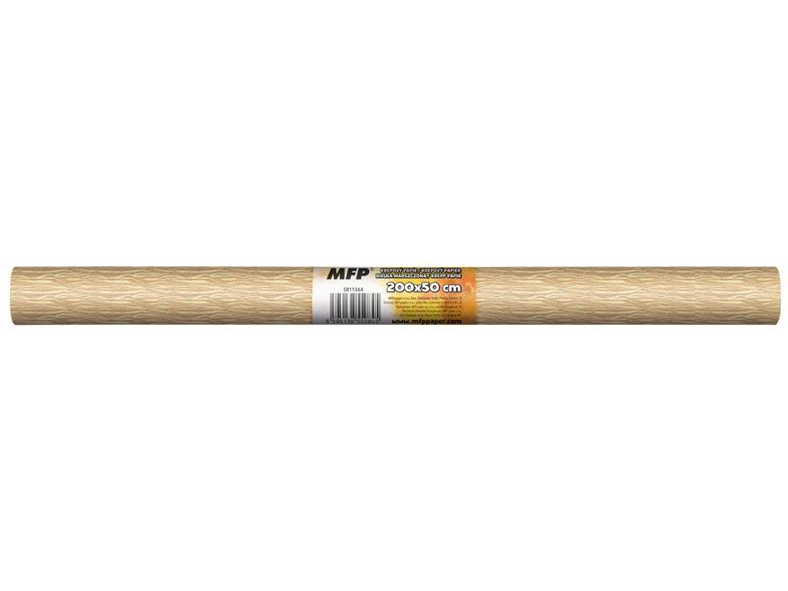 Krepový papír role 50x200cm perleťový béžový