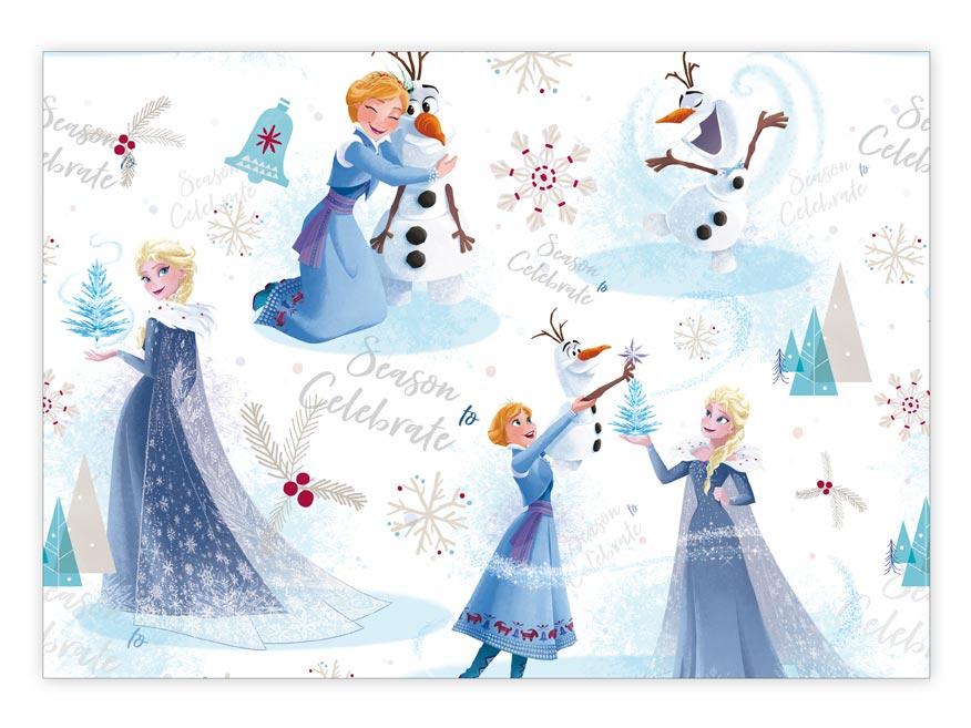 Balící papír vánoční LUX YV023 Disney (Frozen)