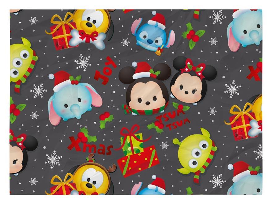 Balící papír vánoční LUX YV029 Disney (Tsum Tsum)